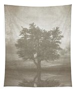 A Tree In The Fog 3 Tapestry by Scott Norris
