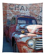 A Truck In Goodland Tapestry