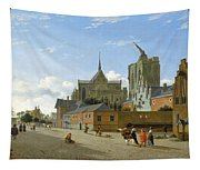 A View In Cologne Tapestry