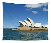 A View Of The Sydney Opera House Tapestry