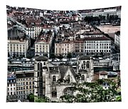 A View Of Vienne France Tapestry