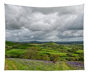 A View To Colmer's Hill Tapestry
