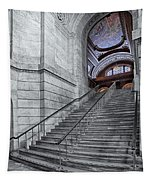 A View To The Mcgraw Rotunda Nypl Tapestry