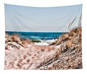 A Walk Out To The Water Tapestry