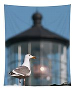 A Western Gull  Larus Occidentalis Tapestry