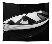 A White Rowboat Tapestry