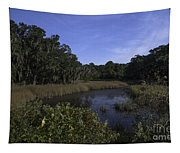 A Wide Expanse Of Marsh Tapestry