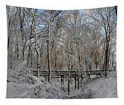 A Winter Scene Tapestry