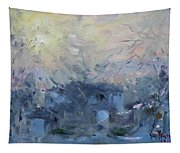 A Winter Sunrise Tapestry