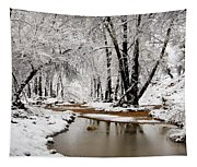 A Winter Walk  Tapestry