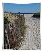A Wonderful Beachday On Cape Cod Tapestry