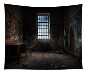 Abandoned Building - Old Room - Room With A Desk Tapestry