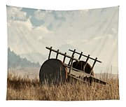 Abandoned Cart Tapestry