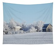 Abandoned Frost Farm Tapestry