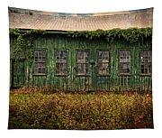 Abandoned Green Sugar Mill Building Dsc04353 Tapestry