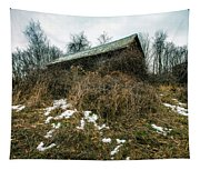 Abandoned Places - Old House - House On The Hill Tapestry