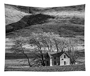 Abandoned Two-story Farmhouse - P Road Nw - Waterville - Washington - May 2013 Tapestry