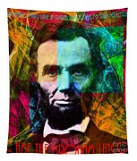 Abe The Broham Lincoln 20140217 Tapestry