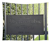 Abercrombie And Fitch Store In Paris France Tapestry