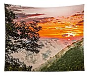 Above The Clouds - Paint Tapestry