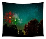Above The Trees Below The Stars Celebration  Tapestry