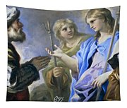 Abraham And The Three Angels Tapestry
