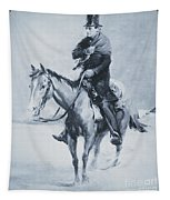 Abraham Lincoln Riding His Judicial Circuit Tapestry