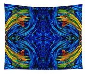 Abstract Art - Center Point - By Sharon Cummings Tapestry