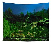 Abstract Art Nature Scenery Tapestry
