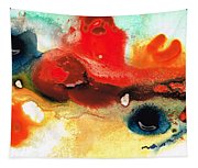 Abstract Art - No Limits - By Sharon Cummings Tapestry