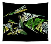 Abstract Bugs Life Horizontal Tapestry