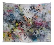 Abstract Butterfly Dragonfly Painting Tapestry