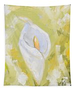 Abstract Calla Lily Tapestry