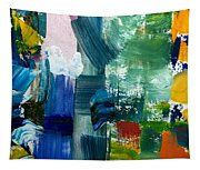 Abstract Color Relationships Lll Tapestry