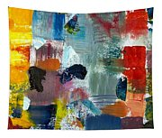 Abstract Color Relationships Lv Tapestry