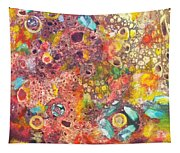 Abstract Colorama Tapestry