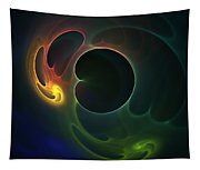Abstract Colors Tapestry