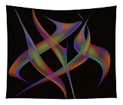 Abstract Dancers Tapestry