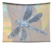 Abstract Dragonfly Tapestry