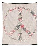 Peace Symbol Design - S77bt01 Tapestry