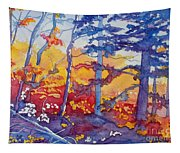 Abstract Forest No. 1 Tapestry