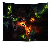 Abstract Fractals Tapestry