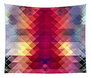 Abstract Geometric Spectrum Tapestry