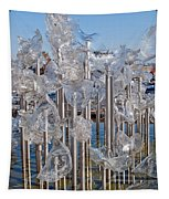 Abstract Glass Art Sculpture Tapestry