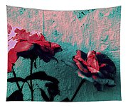 Abstract Hdr Roses Tapestry