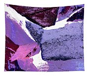 Abstract In Purple Tapestry