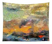 Abstract Landscape II Tapestry