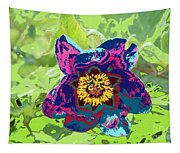 Abstract Peonies Tapestry