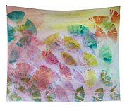 Abstract Petals Tapestry