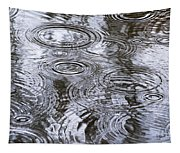 Abstract Raindrops Tapestry
